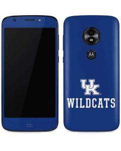 UK Kentucky Wildcats Moto E5 Play Skin
