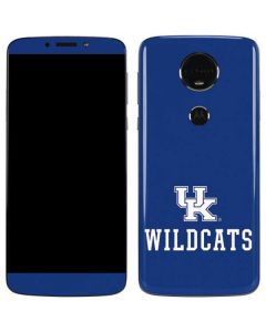 UK Kentucky Wildcats Moto E5 Plus Skin