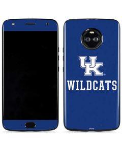 UK Kentucky Wildcats Moto X4 Skin