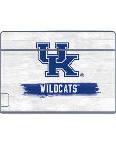 UK Kentucky Wildcats Wood Galaxy Book Keyboard Folio 12in Skin