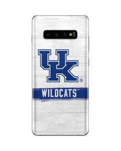 UK Kentucky Wildcats Wood Galaxy S10 Plus Skin