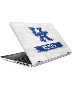 UK Kentucky Wildcats Wood HP Pavilion Skin