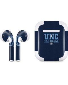UNC Tar Heels Apple AirPods 2 Skin