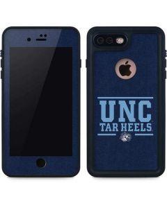 UNC Tar Heels iPhone 8 Plus Waterproof Case