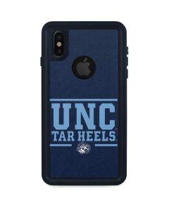 UNC Tar Heels iPhone X Waterproof Case
