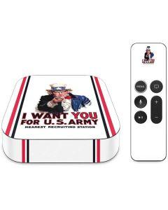 Uncle Sam Vintage War Poster Apple TV Skin