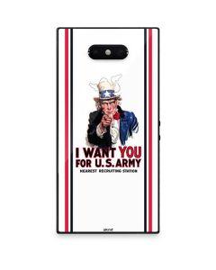 Uncle Sam Vintage War Poster Razer Phone 2 Skin