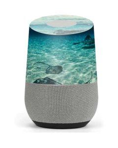 Underwater Sting Rays Google Home Skin