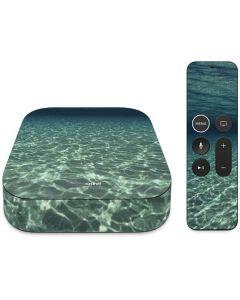 Underwater View of Grand Cayman Island Apple TV Skin