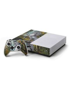 Unicorn of the Willow Xbox One S Console and Controller Bundle Skin
