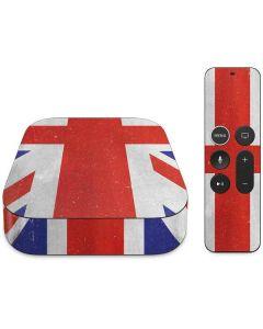 United Kingdom Flag Distressed Apple TV Skin