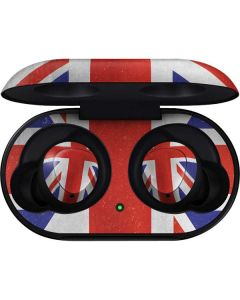 United Kingdom Flag Distressed Galaxy Buds Skin