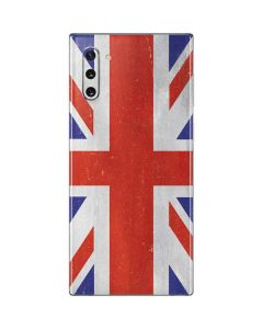 United Kingdom Flag Distressed Galaxy Note 10 Skin