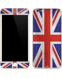 United Kingdom Flag Distressed iPhone 6/6s Plus Skin