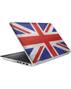 United Kingdom Flag Distressed HP Pavilion Skin