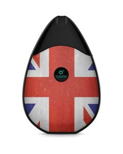 United Kingdom Flag Distressed Suorin Drop Vape Skin