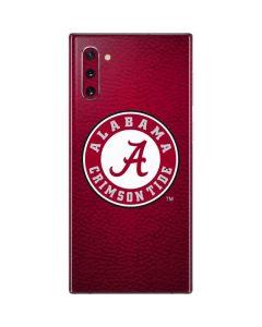 University of Alabama Seal Galaxy Note 10 Skin