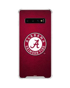 University of Alabama Seal Galaxy S10 Clear Case