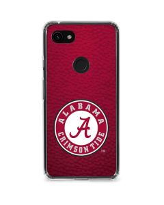 University of Alabama Seal Google Pixel 3a XL Clear Case