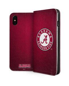 University of Alabama Seal iPhone XS Folio Case