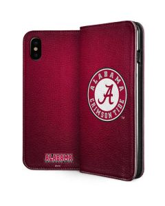 University of Alabama Seal iPhone XS Max Folio Case