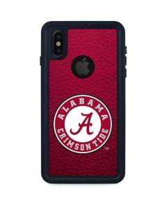 University of Alabama Seal iPhone XS Waterproof Case