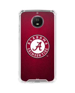 University of Alabama Seal Moto G5S Plus Clear Case