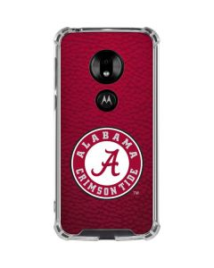 University of Alabama Seal Moto G7 Play Clear Case