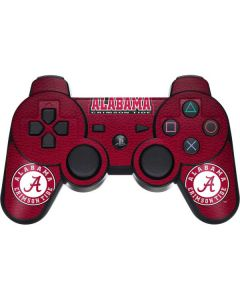 University of Alabama Seal PS3 Dual Shock wireless controller Skin