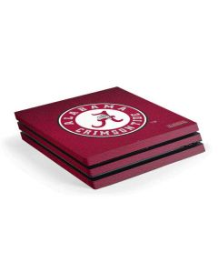 University of Alabama Seal PS4 Pro Console Skin