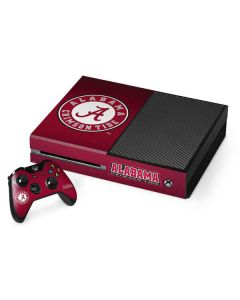 University of Alabama Seal Xbox One Console and Controller Bundle Skin