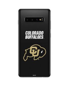 University of Colorado Buffaloes Galaxy S10 Plus Skin