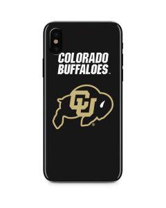 University of Colorado Buffaloes iPhone XS Max Skin