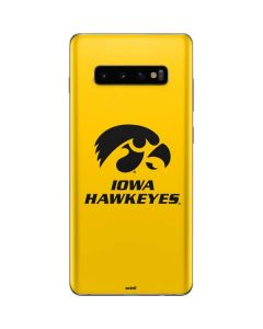University of Iowa Galaxy S10 Plus Skin
