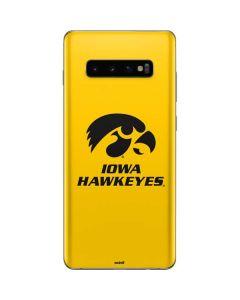 University of Iowa Galaxy S10 Plus Skin