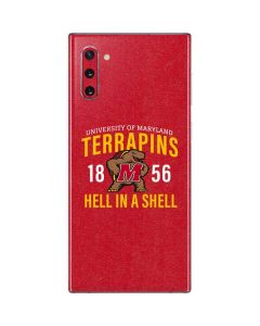 University of Maryland Terrapins Hell In A Shell Galaxy Note 10 Skin