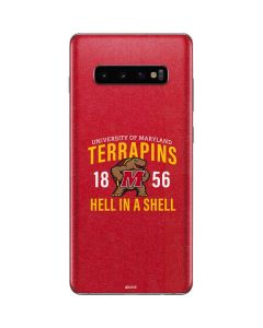 University of Maryland Terrapins Hell In A Shell Galaxy S10 Plus Skin
