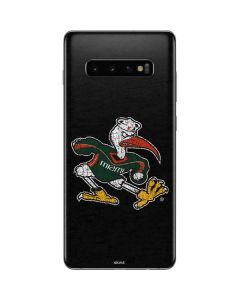 University of Miami Sebastian Galaxy S10 Plus Skin