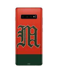 University of Miami Split Galaxy S10 Plus Skin