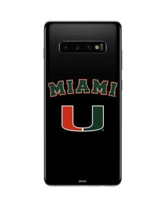 University of Miami The U Galaxy S10 Plus Skin
