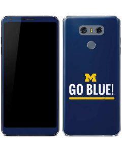 University of Michigan Go Blue LG G6 Skin