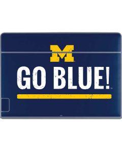 University of Michigan Go Blue Galaxy Book Keyboard Folio 12in Skin
