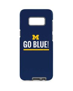 University of Michigan Go Blue Galaxy S8 Pro Case