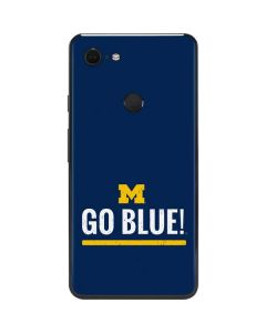 University of Michigan Go Blue Google Pixel 3 XL Skin