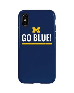University of Michigan Go Blue iPhone X Pro Case