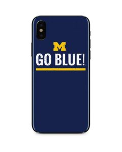 University of Michigan Go Blue iPhone XS Max Skin