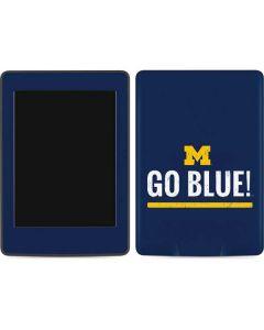 University of Michigan Go Blue Amazon Kindle Skin