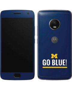 University of Michigan Go Blue Moto G5 Plus Skin