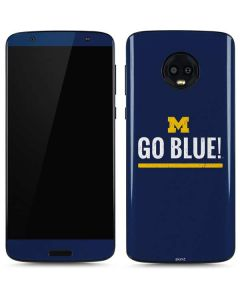 University of Michigan Go Blue Moto G6 Skin