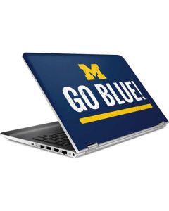 University of Michigan Go Blue HP Pavilion Skin